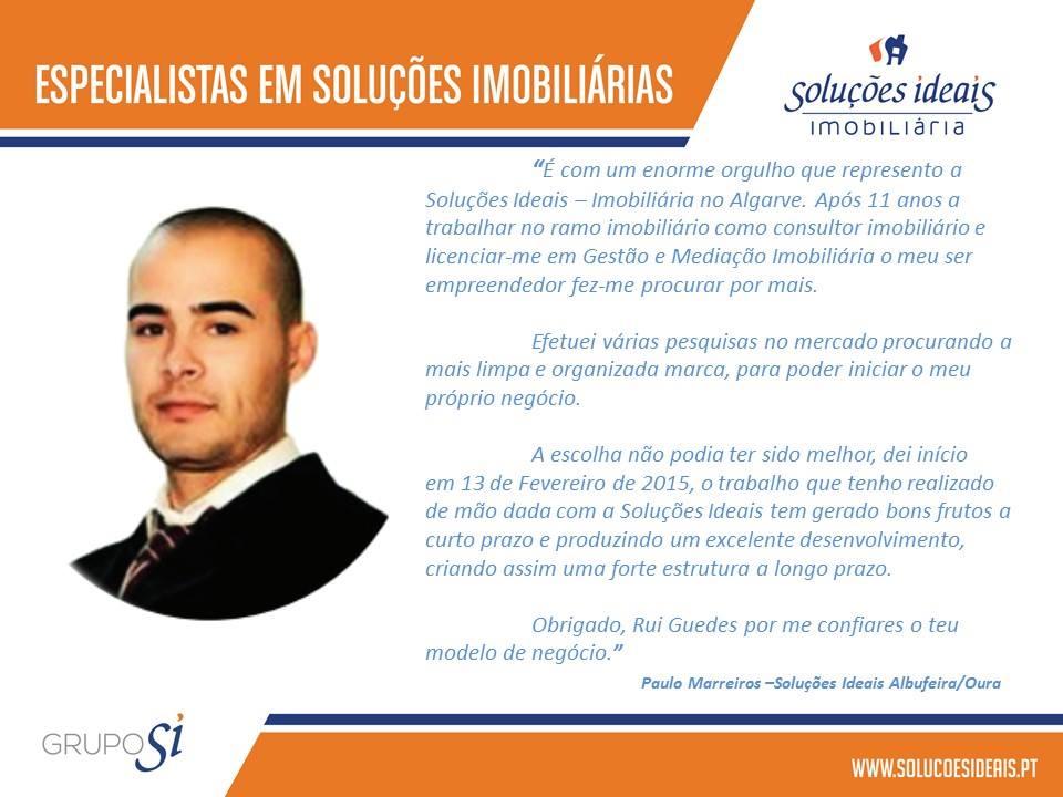 Testemunho Paulo Marreiros - Soluções Ideais Albufeira