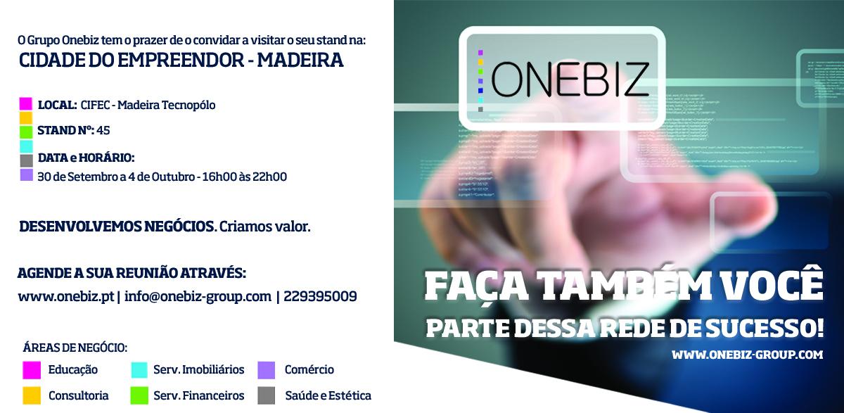 Onebiz participa na Cidade do Empreendedor na Madeira